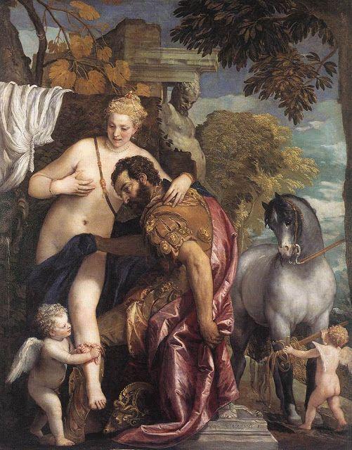Αρης και Αφροδίτη (1570)