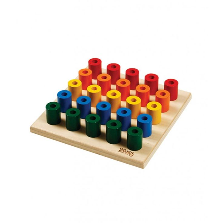 1 to 2 year olds : Triang Build up Peg Board