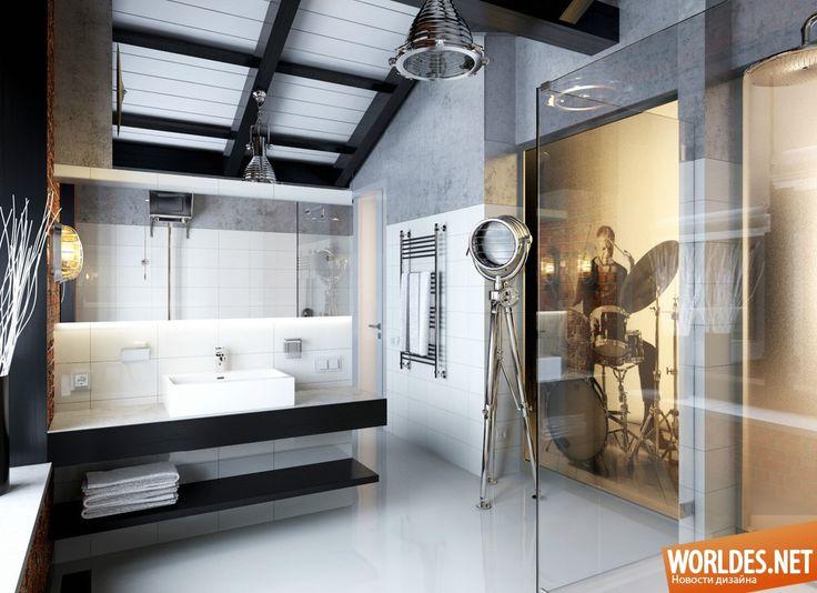 Роскошные ванные комнаты фото 26