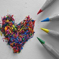 How does coloring help you express yourself?