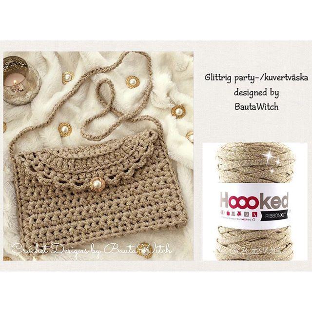 BautaWitch.com #virka #virkat #crochet #bautawitch #bag #väska #mönster #garn #pattern #ribbonxl