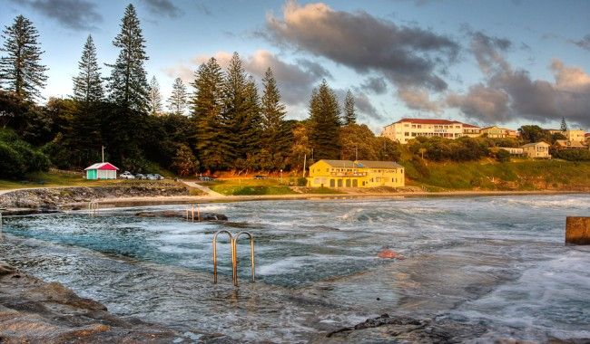 Ocean Rock Pool, Yamba, New South Wales, Australia