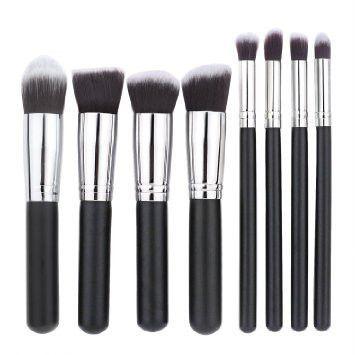 10 PC Premium Makeup Contouring Brush Set