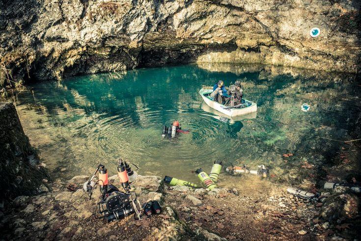 Neuer Vorstoß in die Gorgazzo-Quelle - TAUCHEN