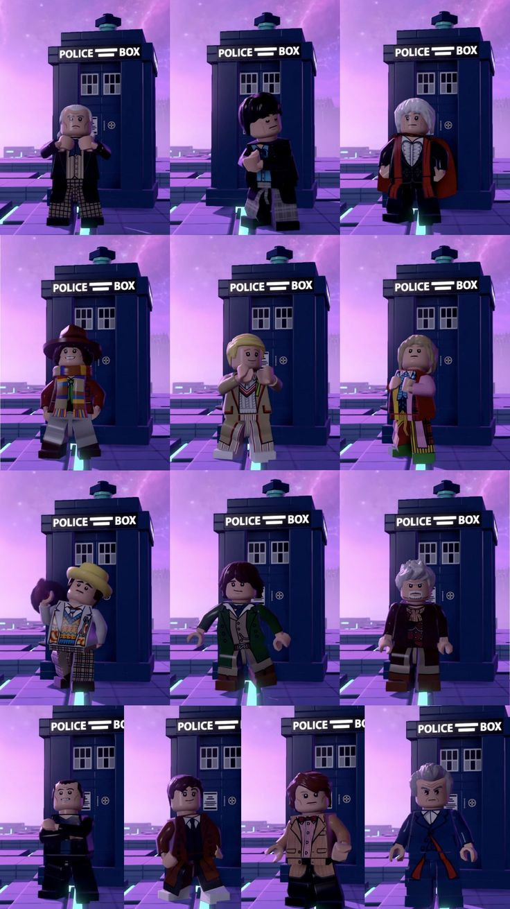 Lego, Doctor Who