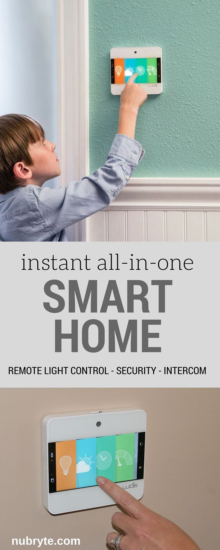 Want to add smart home technology to your home? Here's 4 reasons why you should upgrade your home with NuBryte all-in-one smart home!