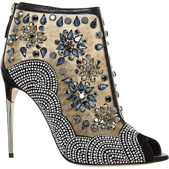 Black Embellished Shooties