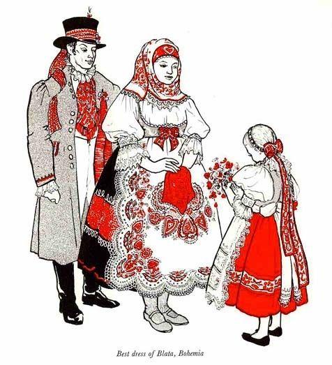 1977 'Folk Costumes of Eastern Europe' DJ, RARE 1st Ed - Illustrated Historical Fashion, Renaissance, Vintage