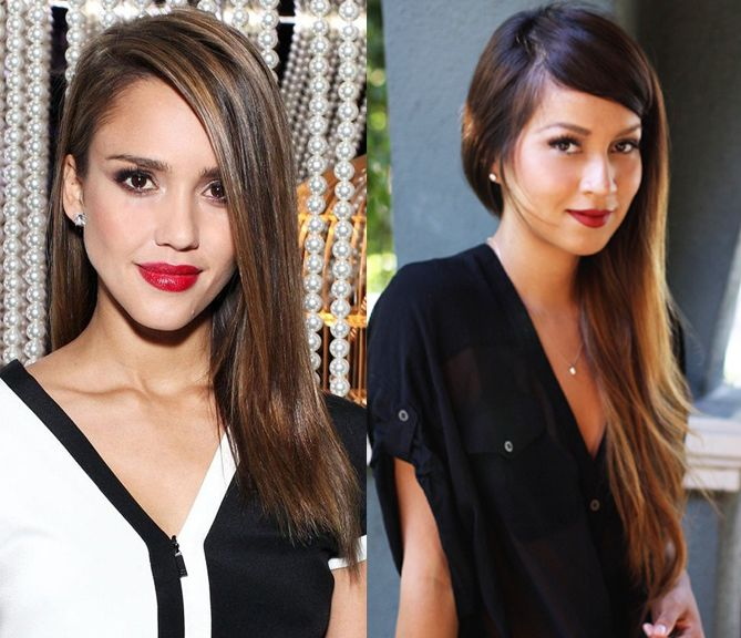 Hair Trend 2014: Deep side parted hair...sexy