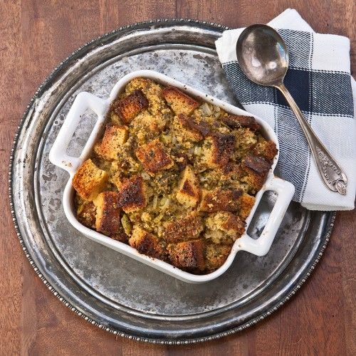 Really good Thanksgiving stuffing, Gluten Free.