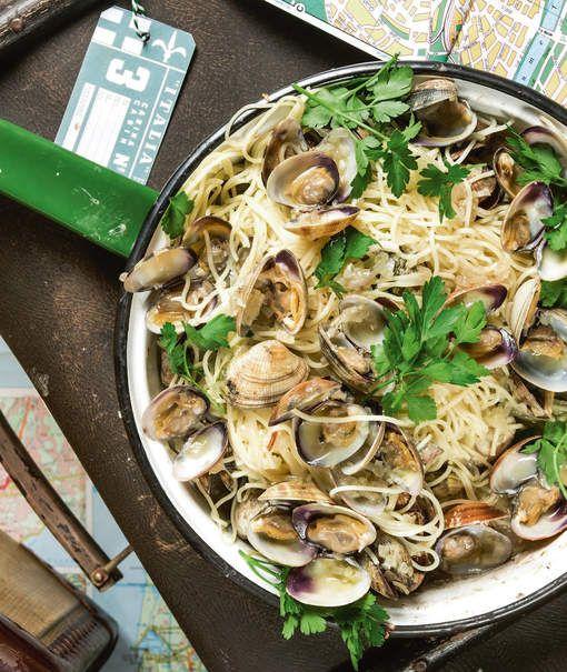 Jeroen Meus kookt pasta alle vongole
