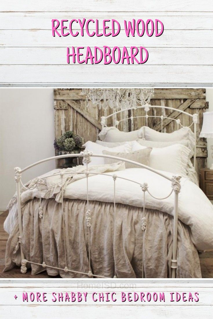 33 Sweet Shabby Chic Bedroom Decor Ideas To Fall In Love With | The
