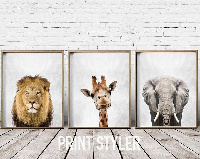 Nursery Art Nursery Prints Nursery Wall Art Safari Nursery Etsy Safari Nursery Prints Safari Wall Art Safari Nursery Art