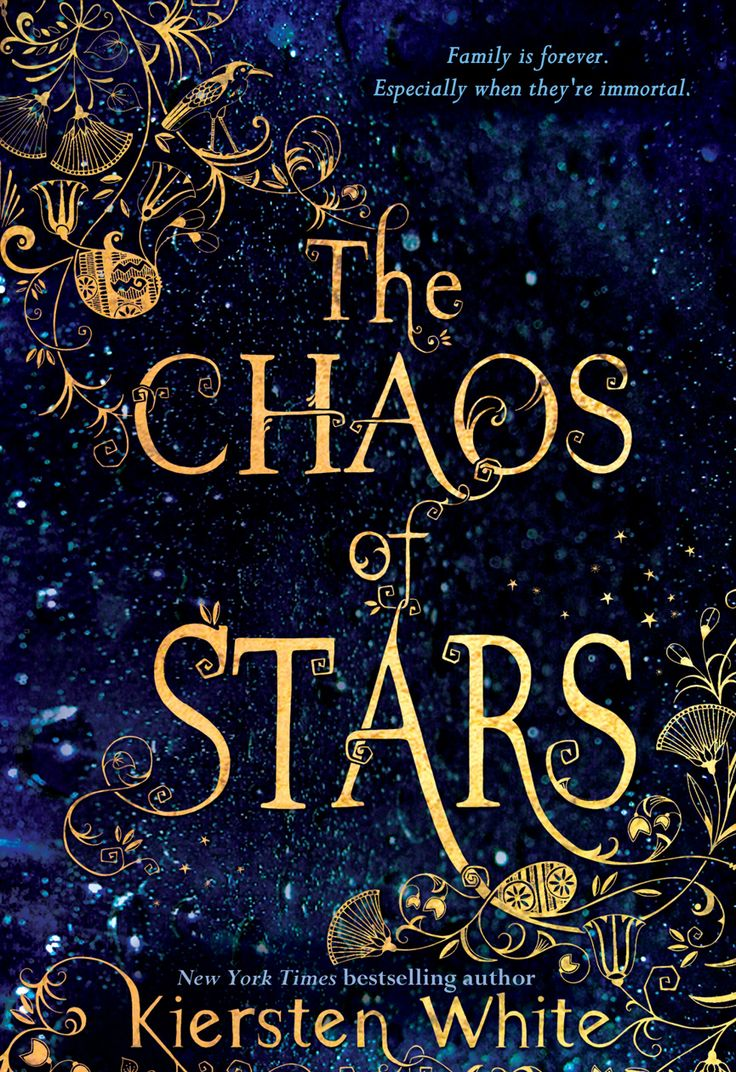 #CoverReveal The Chaos of Stars by Kiersten White (@kierstenwhite)