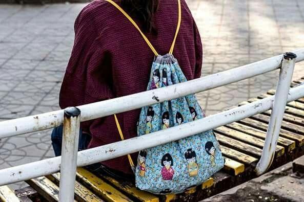 Plecak japoński
