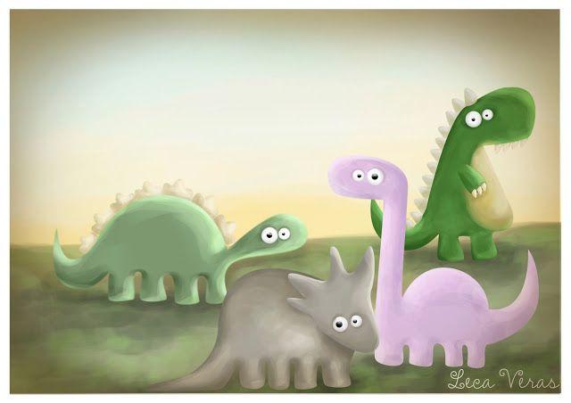 LECA VERAS Foto Ilustração Design: Genteeee... a ilustração dos Dinos para o Álbum do...