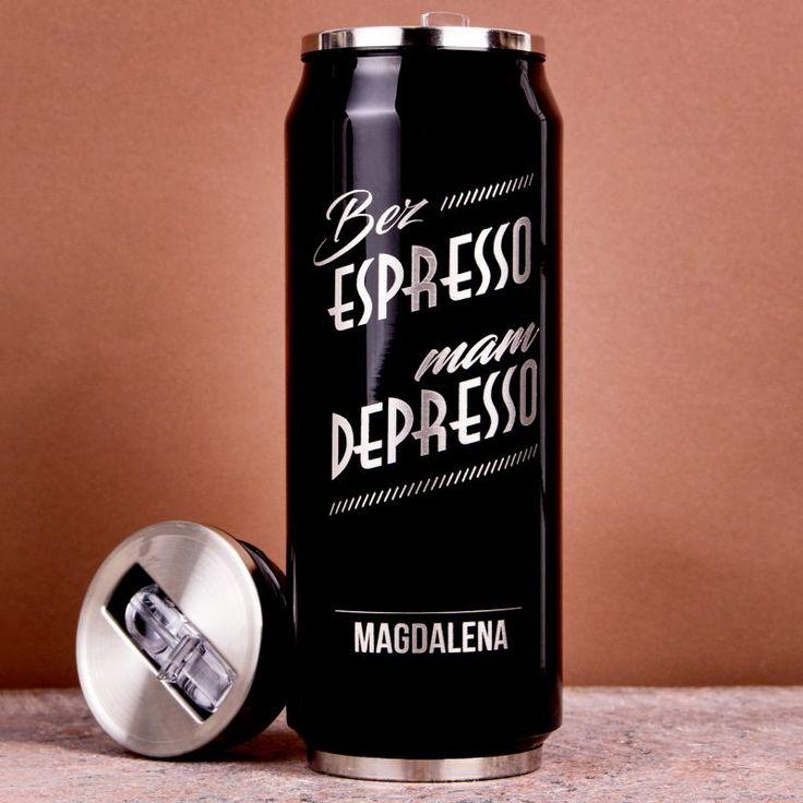 Personalizowany kubek termiczny DEPRESSO