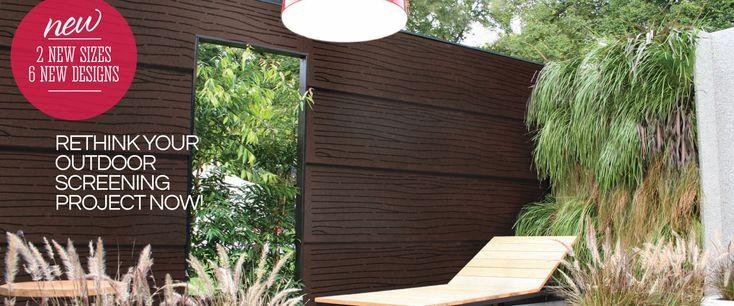 MOUNTAIN-ASH Outdoor Privacy Screens