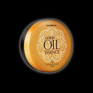 Montibello Gold Oil Mask - all the precious minerals on your hair ;) Contains Amber and Argan Oils