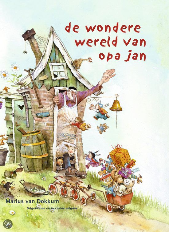Marius van Dokkum - de wondere wereld van opa Jan (4+)