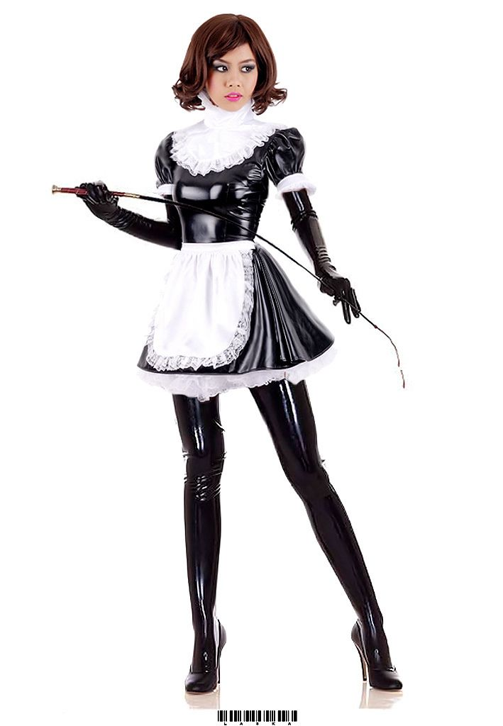Sexy French maid | Sissies and French Maids | Pinterest | French maid, Maids and Latex