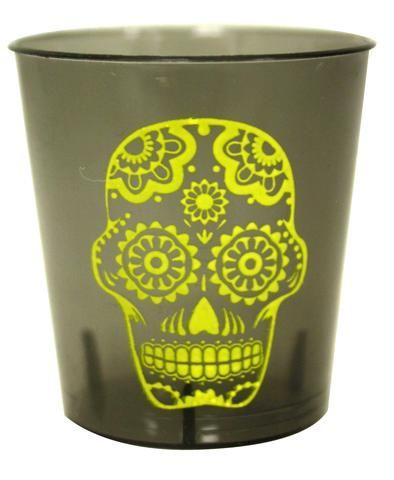 Candy Skull Shot Glass Set