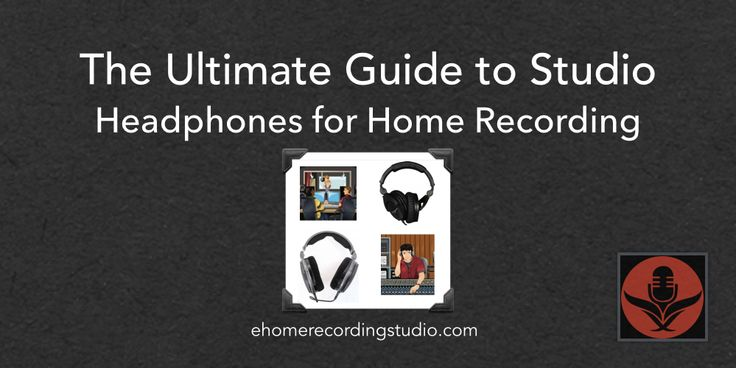 In this list of the best recording studio headphones, I cover the 6 best closed back headphones for tracking and the 7 best open back headphones for mixing.