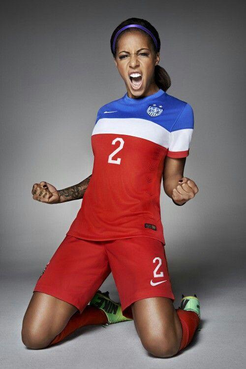 Sydney Leroux.  USA womens national Soccer team.