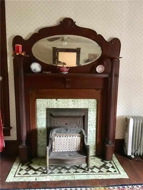 c. 1870 – Whitewright, TX | Wood mantle fireplace, Pine ...