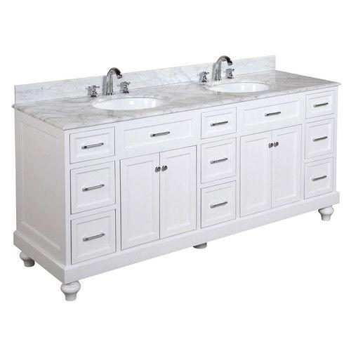"Found it at Joss & Main - Amelia 72"" Double Bathroom Vanity Set"