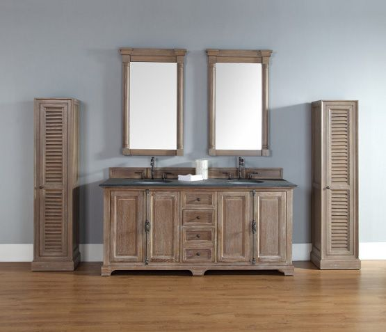 Photographic Gallery Unfinished bathroom vanities with tall pantry cabinet