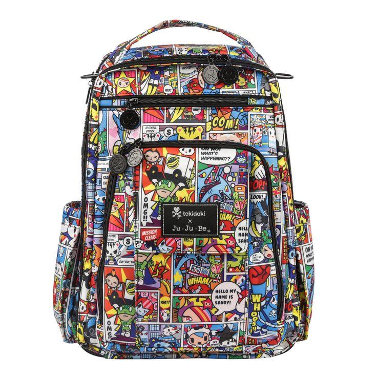 Ju-Ju-Be Be Right Back Diaper Bag - Super toki