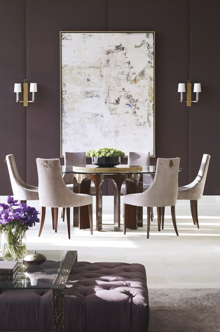 The Thomas Pheasant Collection   Baker Furniture   Radiant Orchid, Purple