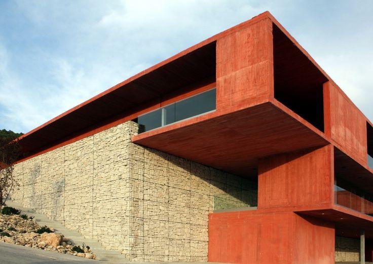 Bodega Pago de Carraovejas / Estudio Amas4arquitectura / Hormigón pigmentado