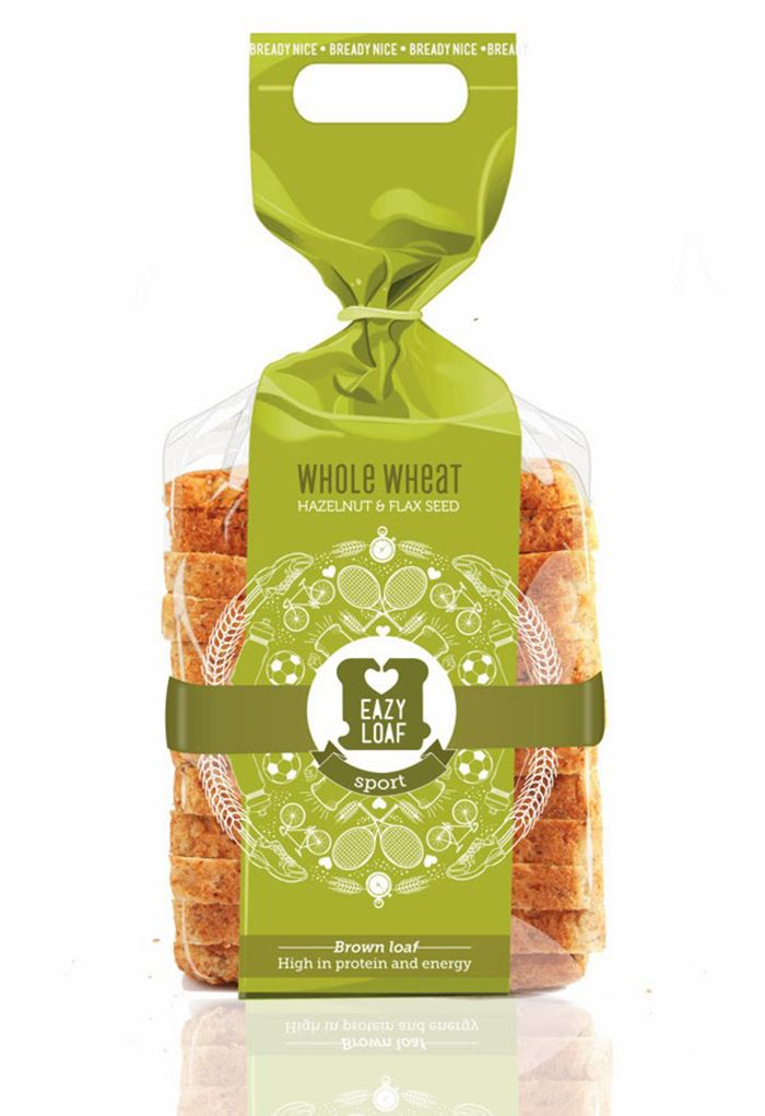 Eazyloaf Fresh Bread - Daily Package Design InspirationDaily Package Design Inspiration  