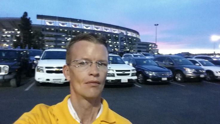 Qualcomm Stadium before game