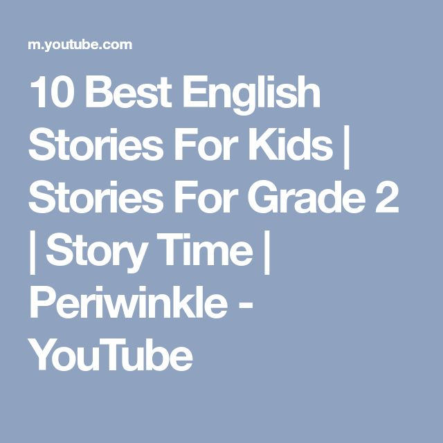 10 Best English Stories For Kids   Stories For Grade 2   Story Time   Periwinkle - YouTube