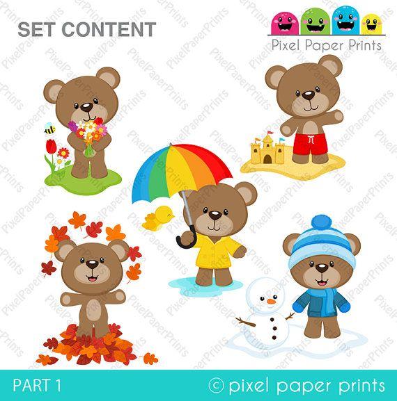 M s de 25 ideas incre bles sobre osos en foami en for Andy panda jardin de infantes