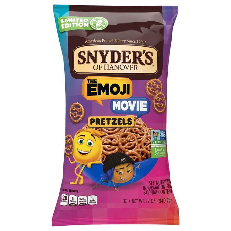 Snyder's Of Hanover The Emoji Movie Pretzels - 12oz