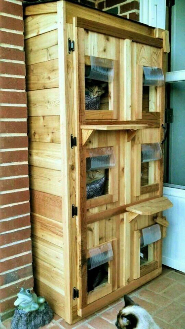 30 Best Diy Outdoor Cat House Plans Feral Cat House Outdoor Cat Shelter Outdoor Cat House