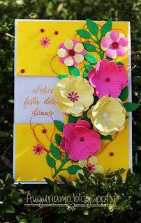 Felice festa della donna con una card floreale! Voi per la #festadelladonna cos'avete preparato? Io una card a finestra super fiorita! Spero vi piaccia! #festa #giallo #yellow #amarillo #flowers #verde #green #flor #handmade #fattoamano #madewithlove #card #biglietto #targeta