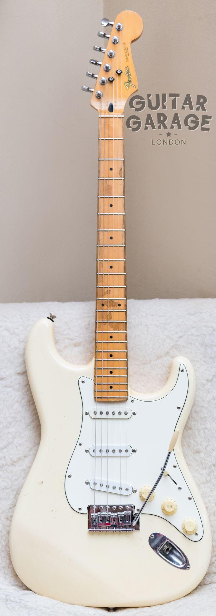 1985 Fender Japan Stratocaster Aged White