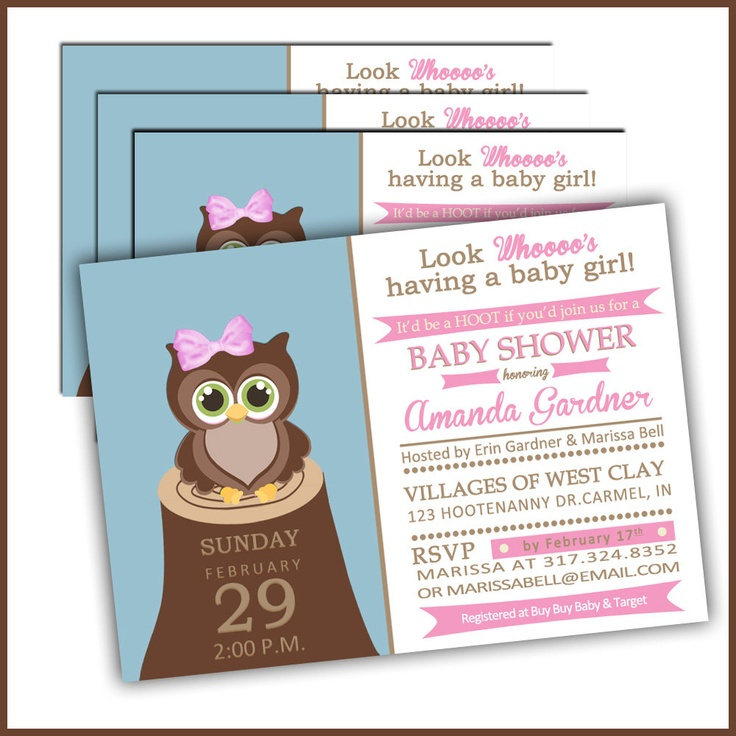 baby shower invitations owls baby shower baby ideas owls baby girls