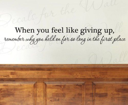 Best Wall Quotes I Love Images On Pinterest - Custom vinyl wall decals sayings for office