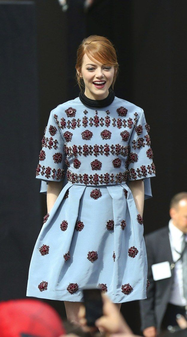 Emma Stone. Love her style.