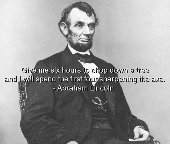 Abraham Lincoln Quote Quotes Sayings Deep Best Thoughts