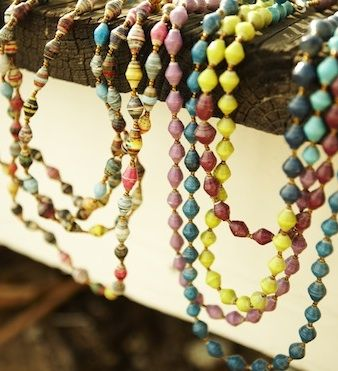beads31Bits, Beads Necklaces, Colors, Bit Jewelry, 31 Bit, Africa, Fair Trade, Paper Beads, Design
