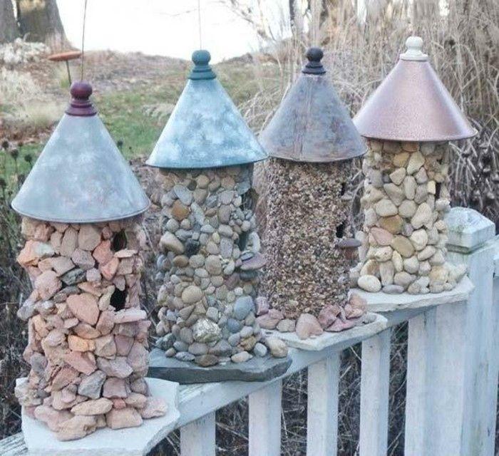 35 Elegant Deko Ideen Mit Steinen Im Garten Wood Trellis Wood Working For Beginners Garden Art