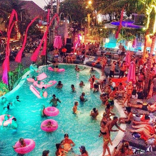 Splash..it was so damn good we have decided to one more for the year. SUNDAY 16TH of November. #regram @niconicoswimwear @cocoonbeachclub #splash #sunday #bali