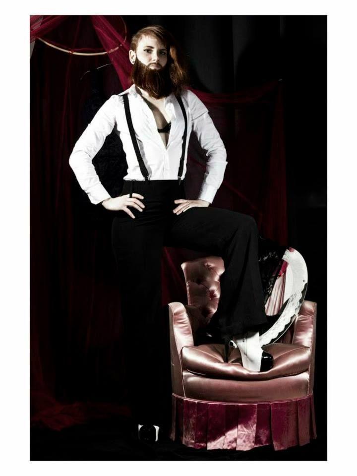 Freaks  Bearded Lady  Model: Teklo Photographer: Florence Aguirre Makeup: Agathe Guittet (Blush&Crush)  www.blushandcrush.com